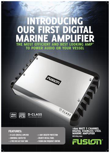 5 Channel Marine Amplifier