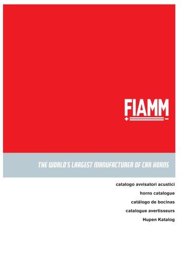 Acoustic devices catalog (EN, DE, IT, SP, FR)