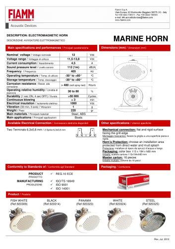 marine horn
