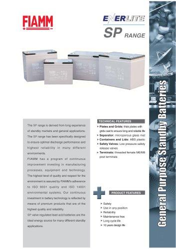 Standby Batteries Enerlite SP range