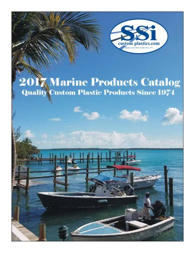 2017 SSI Marine Products Catalog