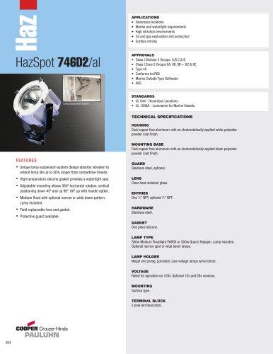 HazSpot 746D2/al