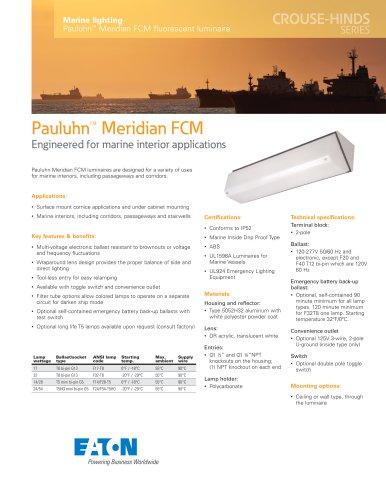 Pauluhn™ Meridian FCM fluorescent luminaire