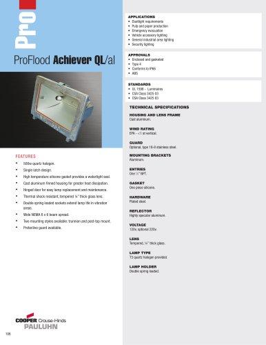 Pauluhn? ProFlood Achiever QL/al Floodlights