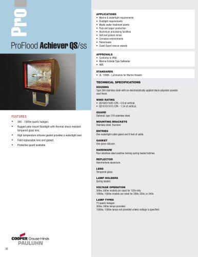 Pauluhn? ProFlood Achiever QS/ss Floodlights