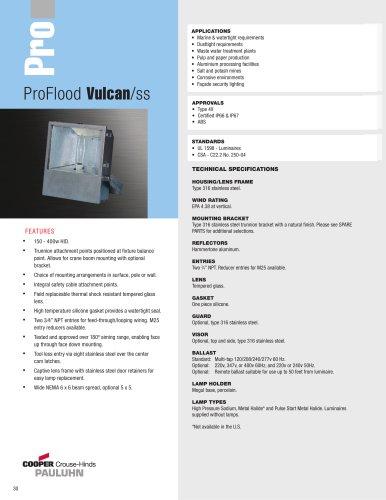 Pauluhn? ProFlood Vulcan/ss Floodlights