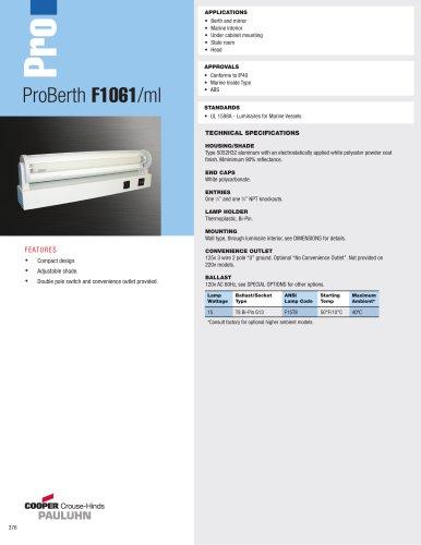 ProBerth F1061/ml