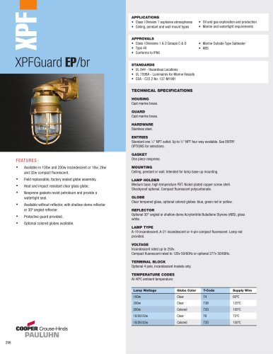 XPFGuard EP/br Globe & Guard