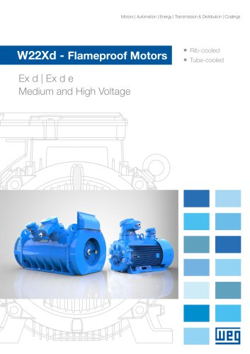 W22Xd - Flameproof Motors (Medium and High Voltage)