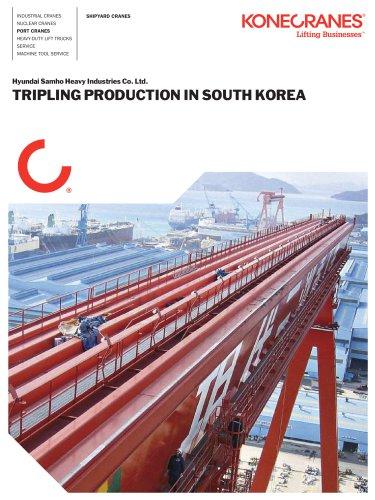 Hyundai Samho Shipyard, South Korea