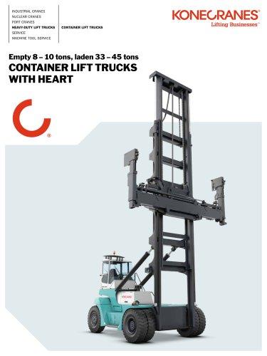 Konecranes Container LIft Trucks brochure