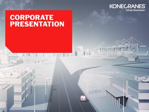 Konecranes corporate presentation 2013