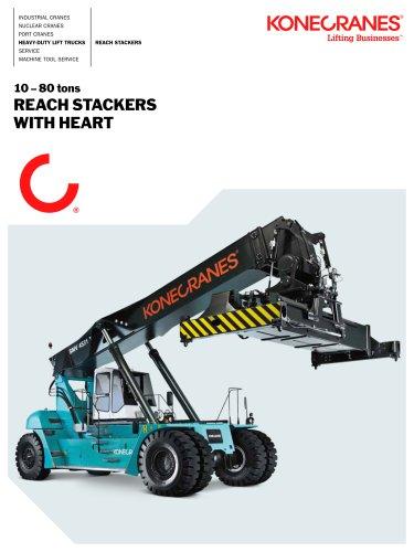 Konecranes Reach Stackers brochure
