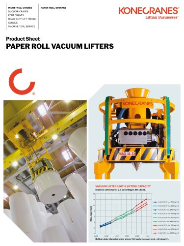 Paper Roll Vacuum Lifter