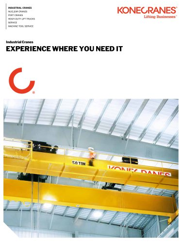 Space-Saving Industrial Cranes