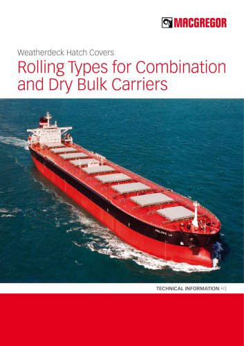 Rolling Types for Combination and Dry Bulk Carriers