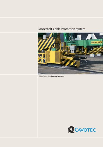 Panzerbelt cable protection systems