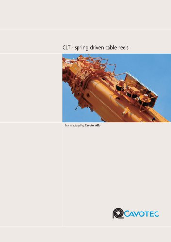Product Catalogue - FLT Spring Driven Cable Reels