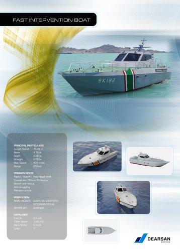 15m Fast Intervention Boat