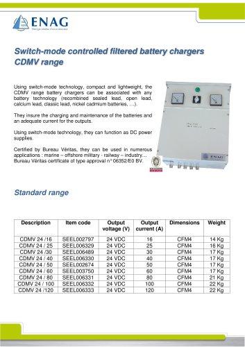 CDMV range – 24V – Single phase