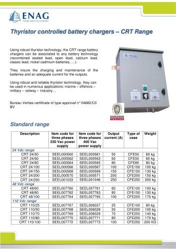 CRT range – 24/48/110V – Three phase