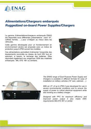 Power supply 24Vdc – 135A Rack