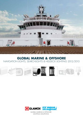 Global Marine & Offshore Navigation Lights, searchlights & Helideck Lighting 2012/2013