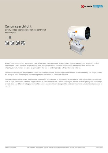 Xenon searchlight