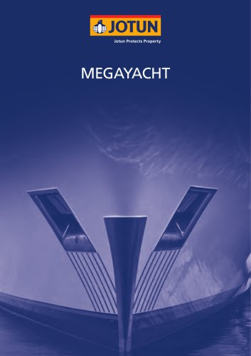 Megayacht brochure