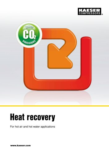 Heat Recovery for Hot Air and Hot Water