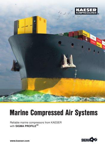 Marine compressors