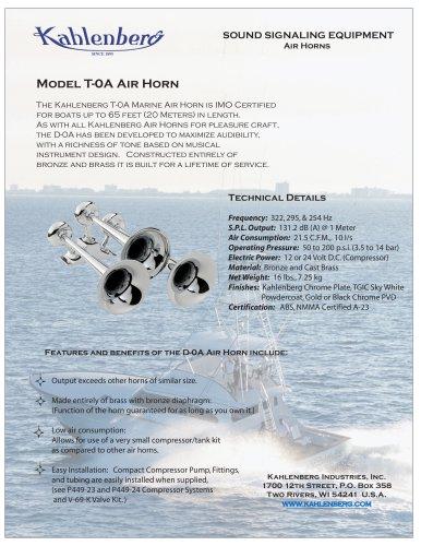 Model T-0A Air Horn