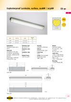 EX92 Explosionproof Luminaire, surface, 2x 18 W / 2x 36 W