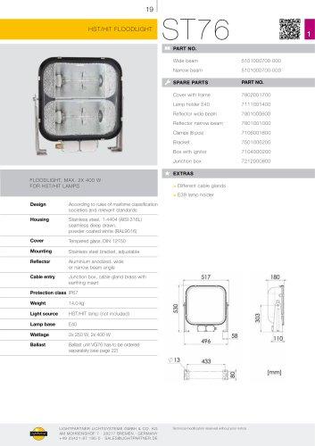 ST76 2x 400 W