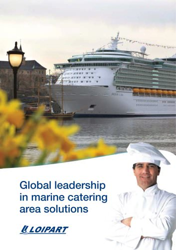 Global Leadership in Marine Catering Area Solutions
