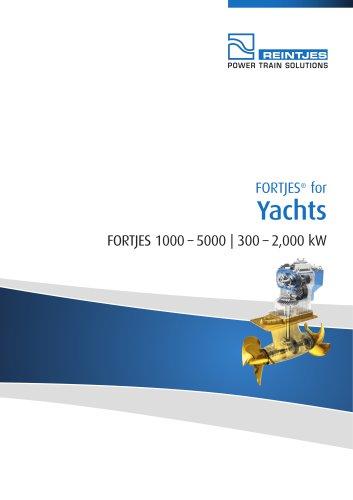 Yachts Fortjes 1000-500 l 300-2 000 kW