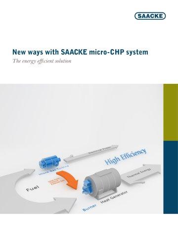 New ways with SAACKE micro-CHP system