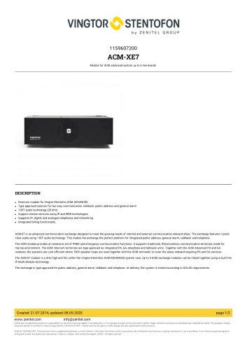 ACM-XE7