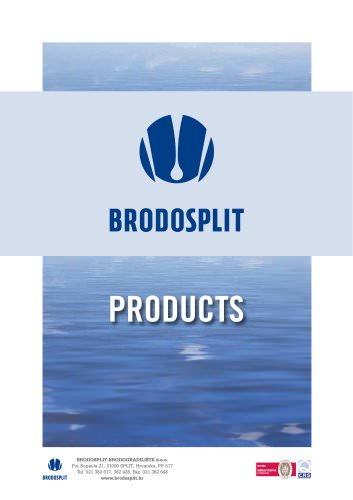 Brodosplit Products