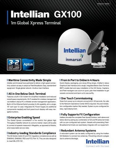 Intellian GX100