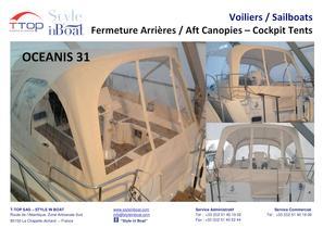 Cockpit Tents for sailboats - 1