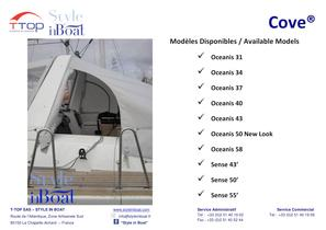 The Cove® equipped on the Beneteau sailboats - 9