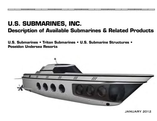 U.S. SUBMARINES, INC.