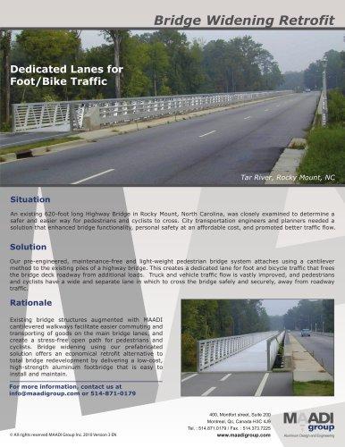 Bridge Widening Retrofit