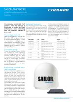 SAILOR® 900 VSAT KU