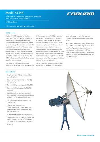 Sea Tel ST144 Satellite TV
