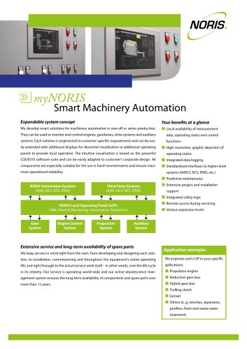 Alarm, Monitoring and Control System