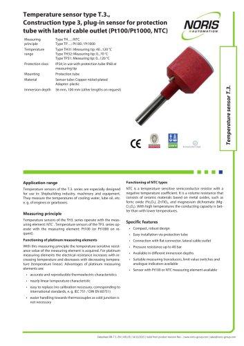 Datasheet TP31 TH31
