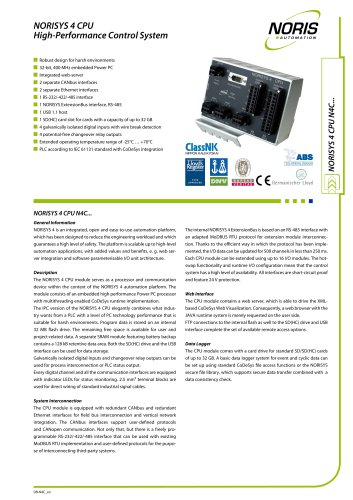 Flyer NORISYS 4 CPU