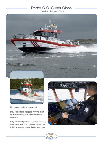 17 m Fast Rescue Craft of Petter CG Sundt Class